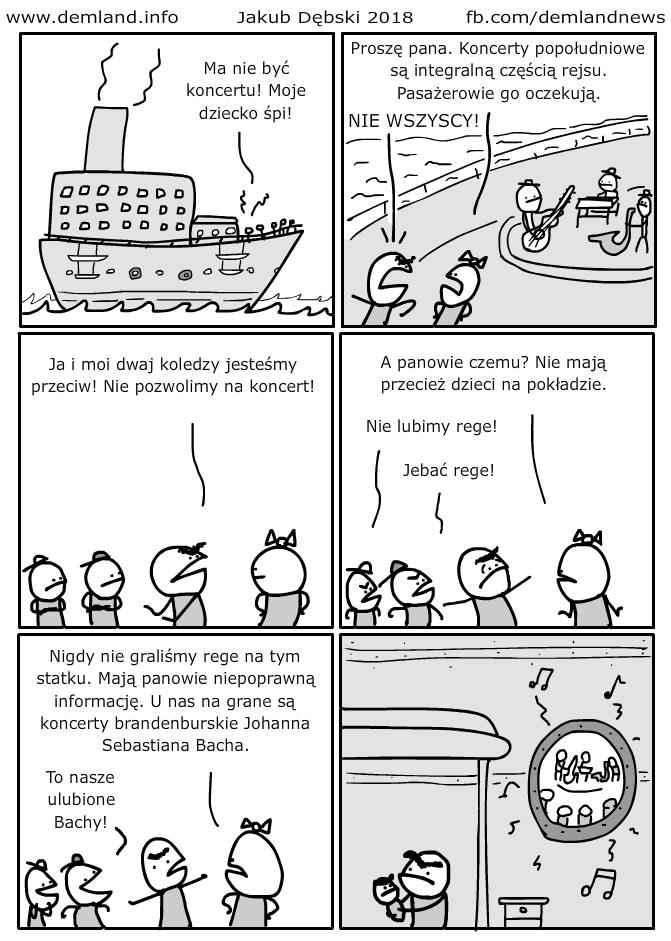Johann Sebastian Bach znowu wygrywa. Ale kiedyś los się w końcu odwróci!